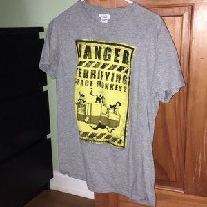 Loot Crate Firefly Space Monkeys T-Shirt sz M